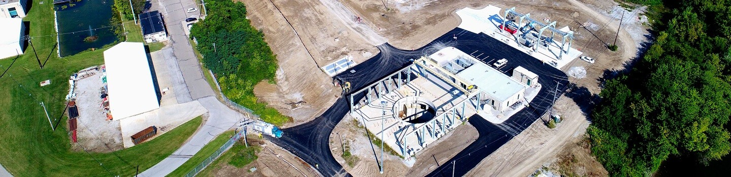 Aerial View of OSIS Augmentation & Relief Sewer