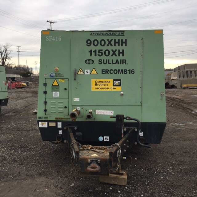 Front of Sullair Portable Air Compressor